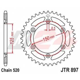 Steel Rear Sprocket. JTR897.51