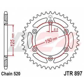 Steel Rear Sprocket. JTR897.49