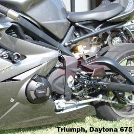 675/ST 675 STOCK Motorcycle Protection Bundle. 6mm Paddock Stand