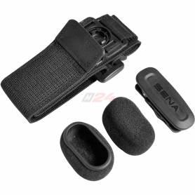 Bluetooth Mic Supplies Kit (Windscreen. Clip mount. Armband mount)
