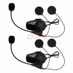 SMH10 Motorcycle Bluetooth Headset & Intercom Dual Pack for Bell® Mag-9 Helmets