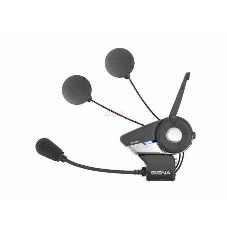 Sena 20S. Motorcycle Bluetooth Communication System with Slim Speakers