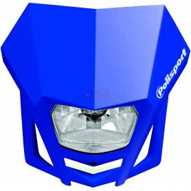 Polisport LMX headlight blue