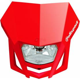 Polisport LMX headlight red