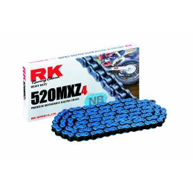 RK BB520MXZ4 Offroad Chain Blue +CL (Connect.link)