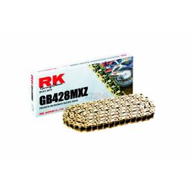 RK GB428MXZ Offroad/Street Chain Gold +CL (Connect.link)