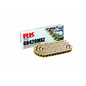 RK GB420MXZ Offroad Chain Gold +CL (Connect.link)