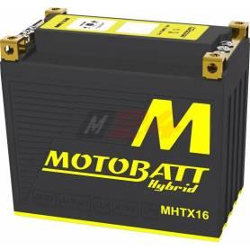 Motobatt Hybrid battery MHTX16