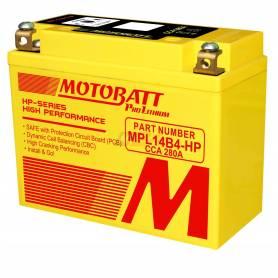 Motobatt lithium battery MPL14B4-HP