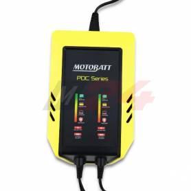 Motobatt 2-Bank 9 step charger 12V 2.0 Amp