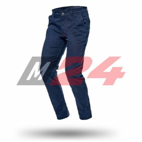 Adrenaline Chinos Trousers With Protectors Navy Blue