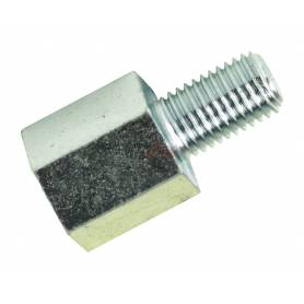Bike It Alloy Mirror Adaptor For Converting 8mm Thread To 10mm Fitment