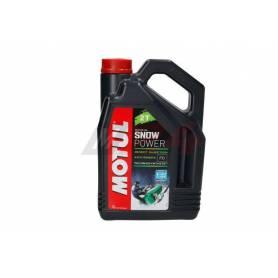 MOTUL 2 stroke engine oil SNOWPOWER 2T ESTER 4L