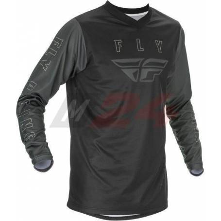 FLY Racing F-16 Shirt Black /Grey