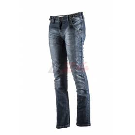Jeans Trousers With Protectors Lady Slim 2.0 Navy Blue