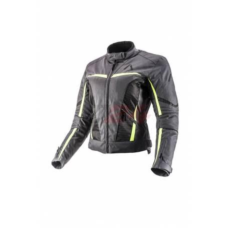 Adrenaline Textile Jacket Love Ride 2.0 Black/Green/Grey