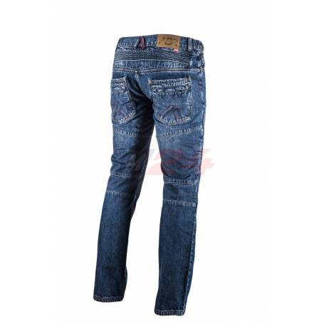 Adrenaline Riding Jeans With Protectors Stich Blue