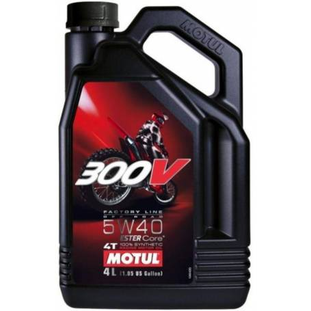 MOTUL 4 stroke engine oil 300V OFFROAD 5W40 4L