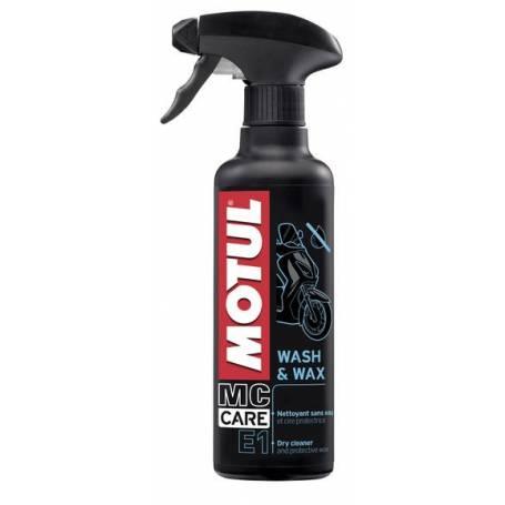 MOTUL WASH & WAX E1 0.4L