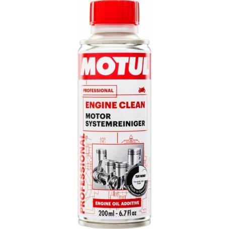 MOTUL ENGINE CLEAN cleaning for engine flush at oil change