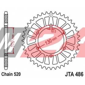 Aluminium Rear Race Sprocket. JTA486.52